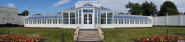 The Orangery is a centrepiece of the £4m restoration of Victoria park (picture by Robbob)
