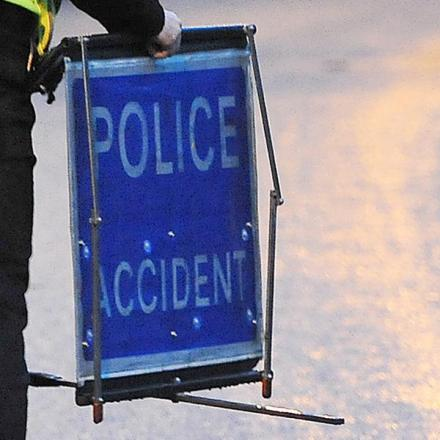 Cyclist left with serious head injury following crash