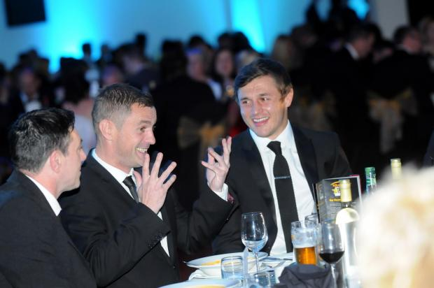 It was the ambition of Steve Prescott, pictured centre alongside Paul Loughlin and Jon Wilkin, for the Pride of St Helens awards to grow and grow