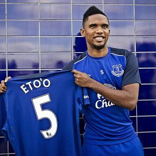 Samuel Eto'o could make his Everton debut against former club C