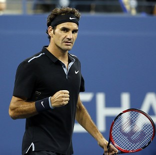 Roger Federer remains on course for an 18th major title (AP)