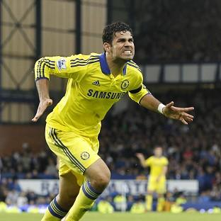 Goalscorer Diego Costa is happy to lead Chel