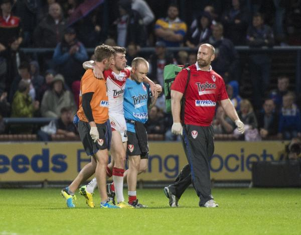 Mark Percival led off after the challenge on him by Joel Moon