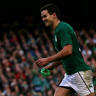 Johnny Sexton, pictured, has completed a four-year deal to return to Leinster next summer