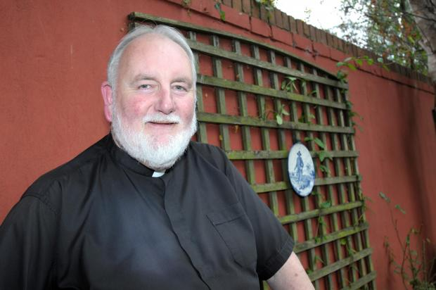 St Helens Star: Father Tom Gagie alerted the emergency services