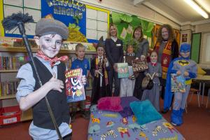 Young bookworms help choose school's books