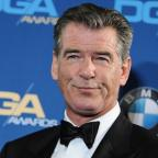 St Helens Star: Pierce Brosnan was stopped with a knife in his hand luggage (AP)