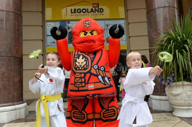 Young lego fans unearth their 'inner Ninja' at Legoland Discovery Centre