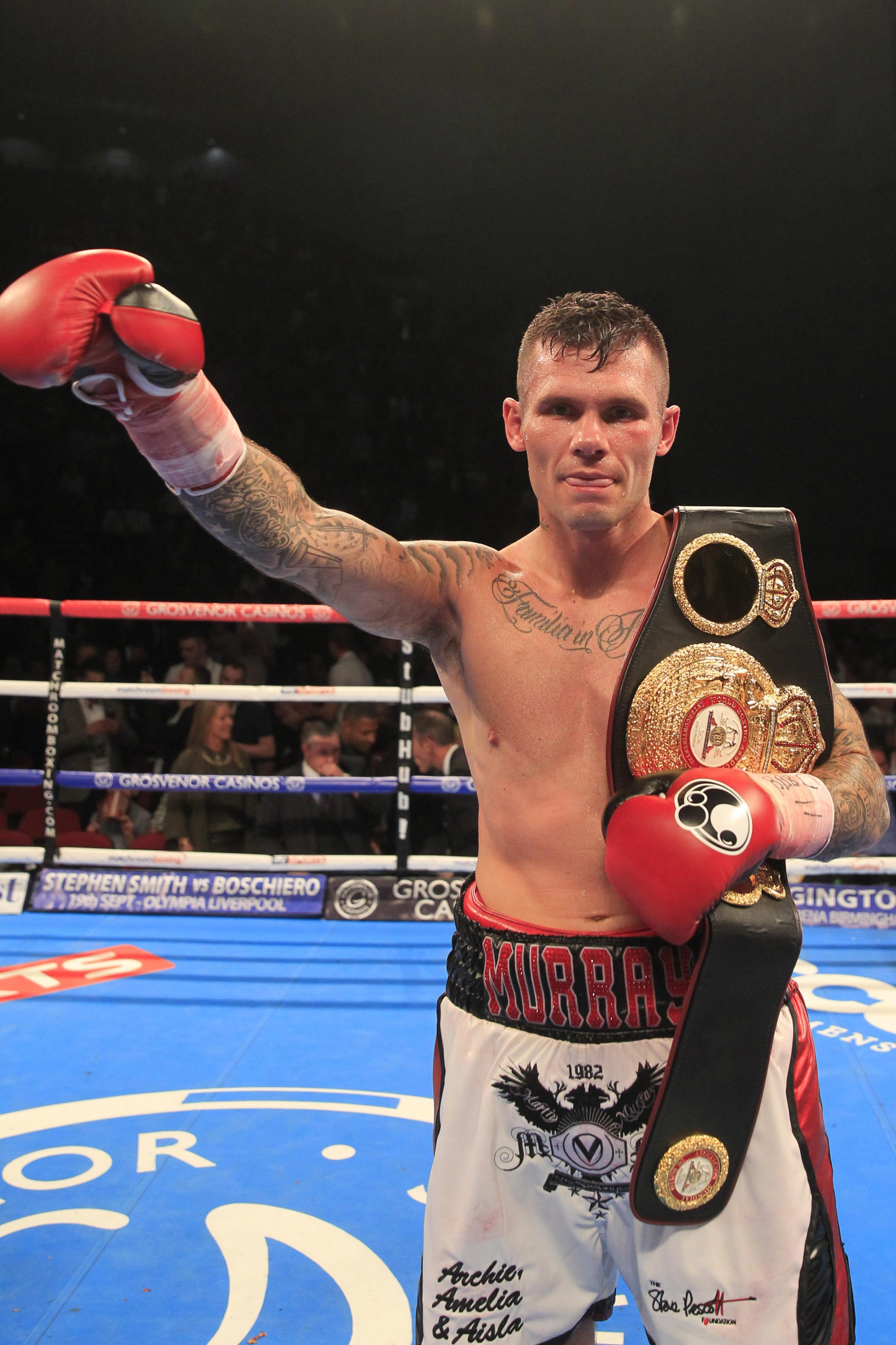 PICTURES: Martin Murray scores a third emphatic win at super middleweight