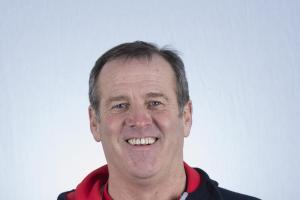 Derek Traynor - part of three-man coaching team