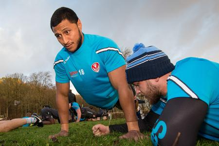 St Helens Star: Dominique Peyroux in pre-season training