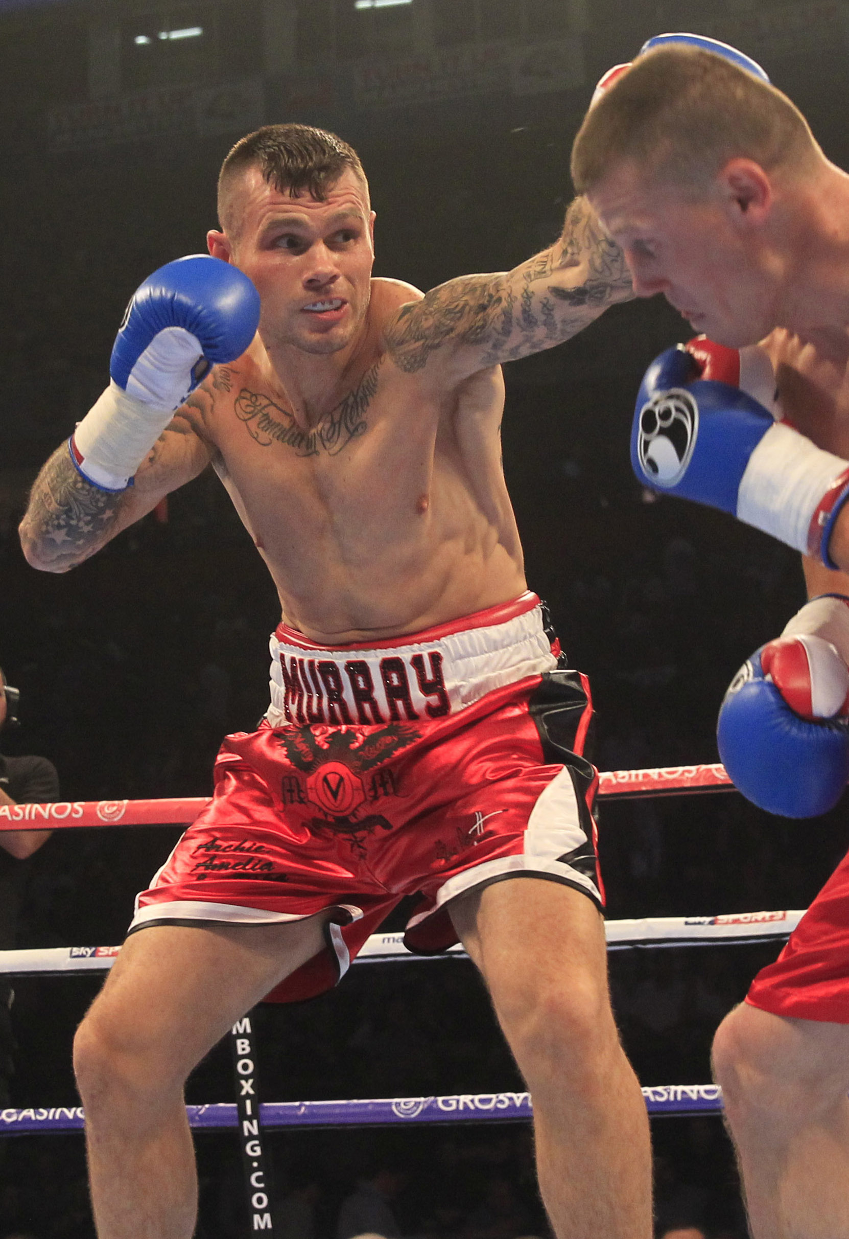 Martin Murray to tackle George Groves at London's O2 on Anthony Joshua's undercard