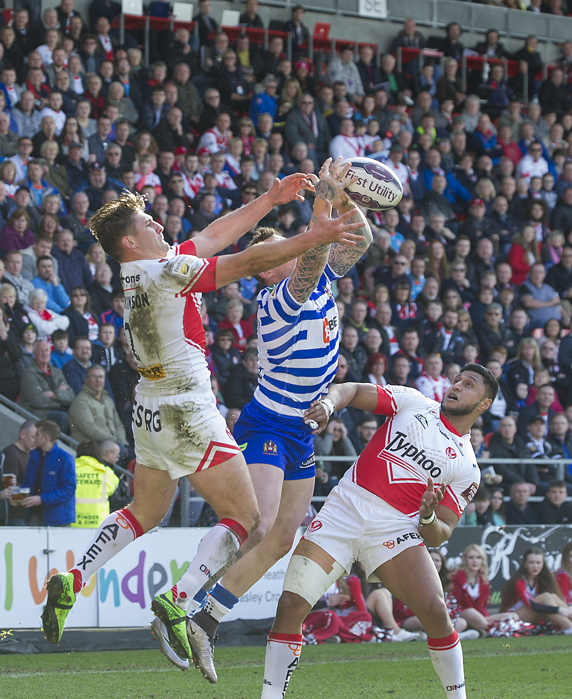 Saints will play Wigan on both double-header weekends