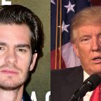 St Helens Star: Donald Trump needs a kiss to calm down, actor Andrew Garfield says
