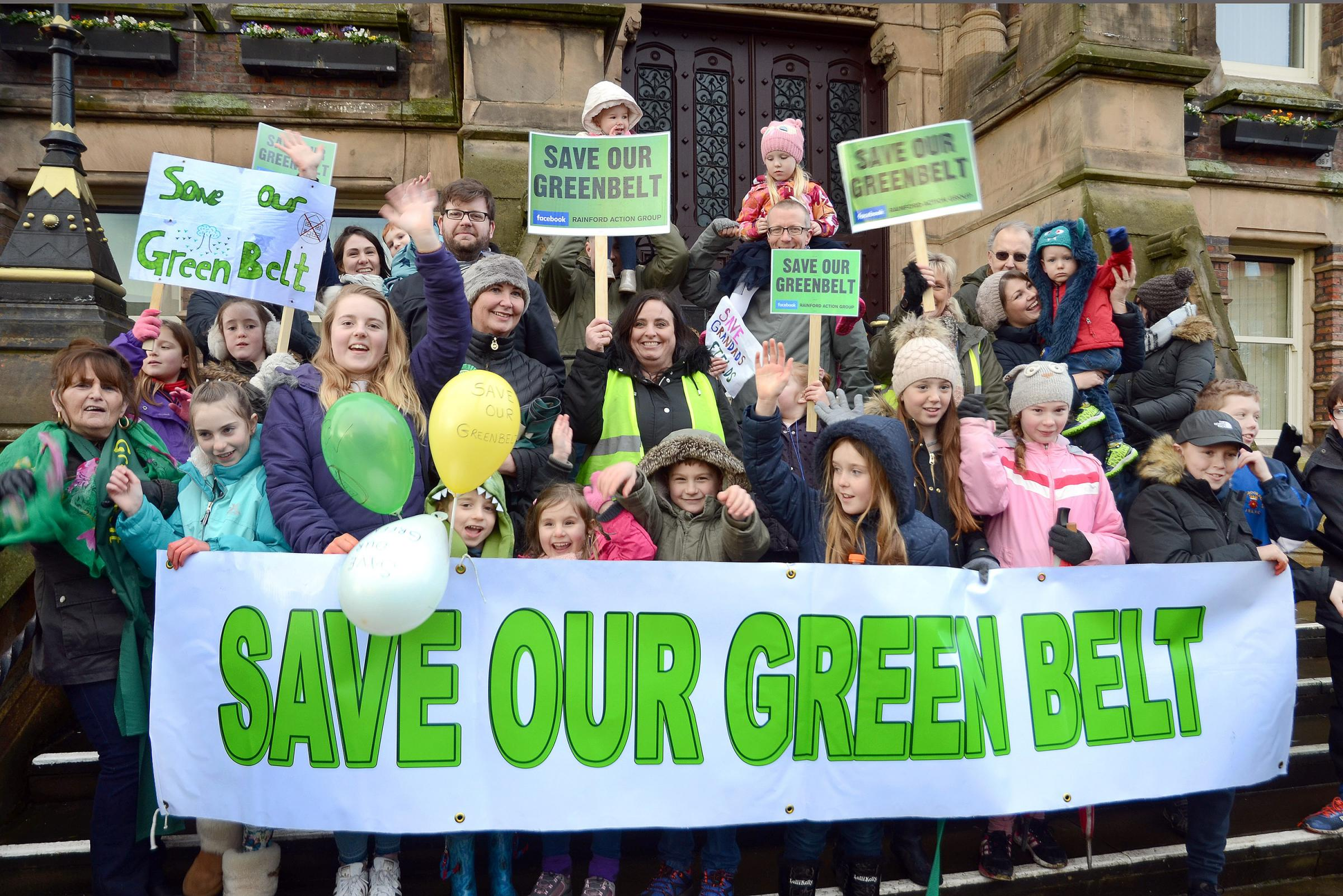 Rainford Action Group Campaigners