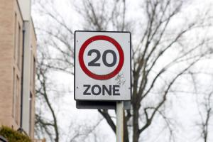 The 20mph speed limit will be introduced in four areas of the borough