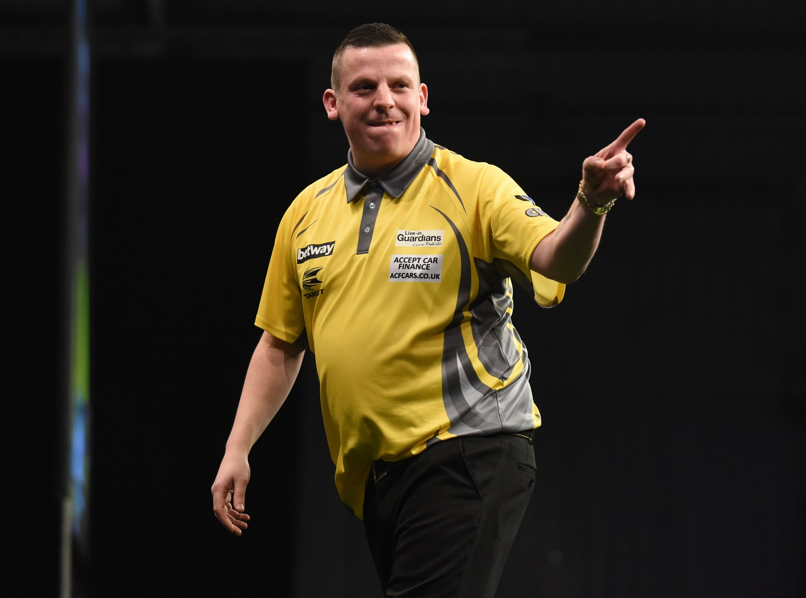 Dave Chisnall. Picture by Lawrence Lustig, PDC