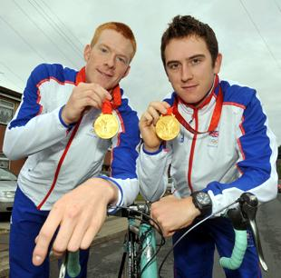 Olympic champions and best friends Ed Clancy and Geraint Thomas