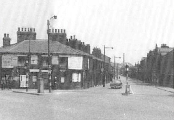 Liverpool Road in days gone by