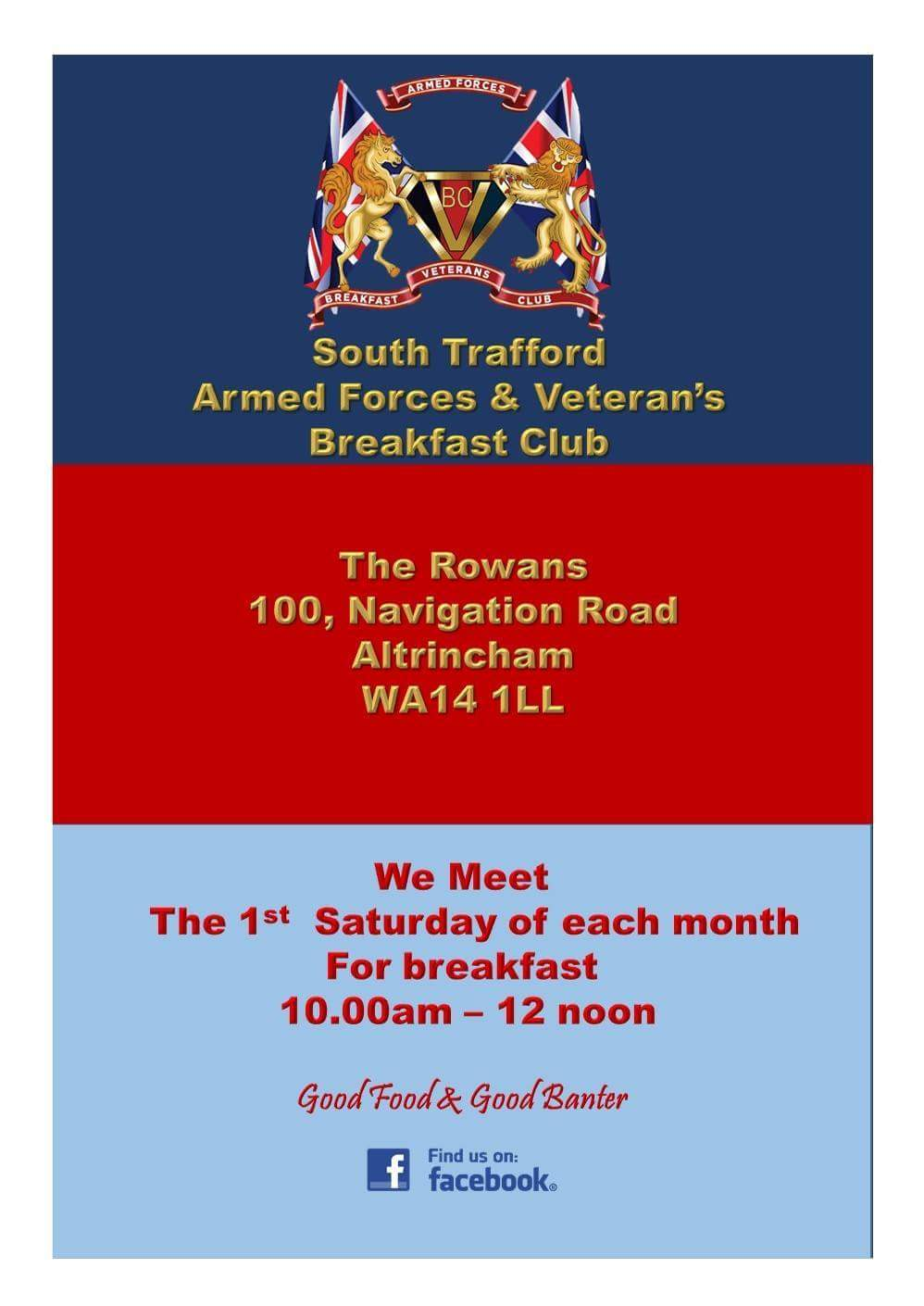 South Trafford Veterans Breakfast Club