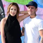 St Helens Star: Charlotte Crosby and Stephen Bear (Ian West/PA)