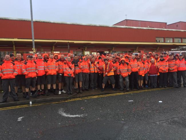 Postal Workers Return To Work After Walkout Royal Mail Confirms