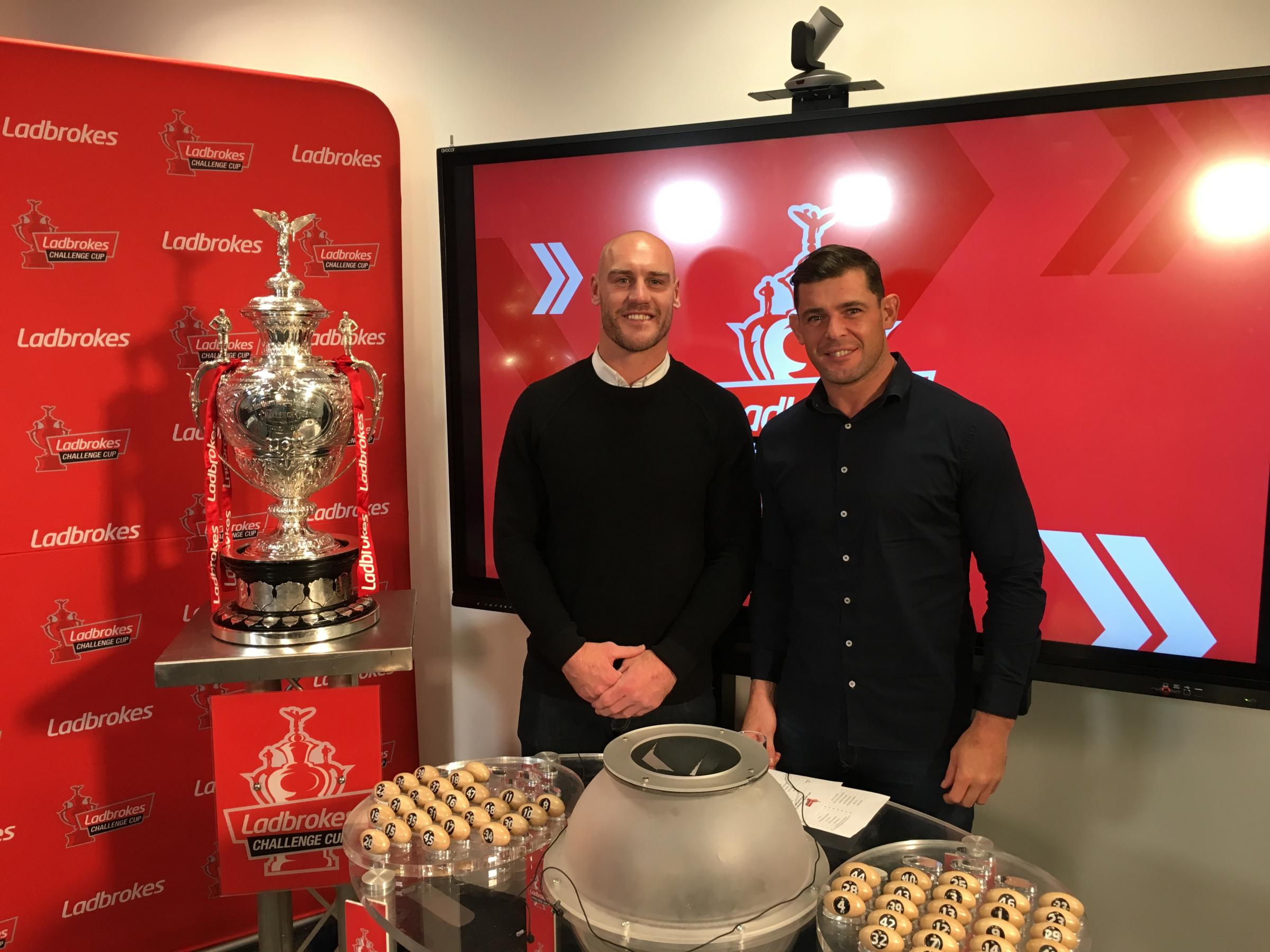 Challenge Cup first round draw throws up away ties
