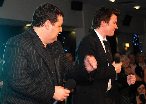 St Helens Star: Peter Kay and Rick Astley on Saturday night