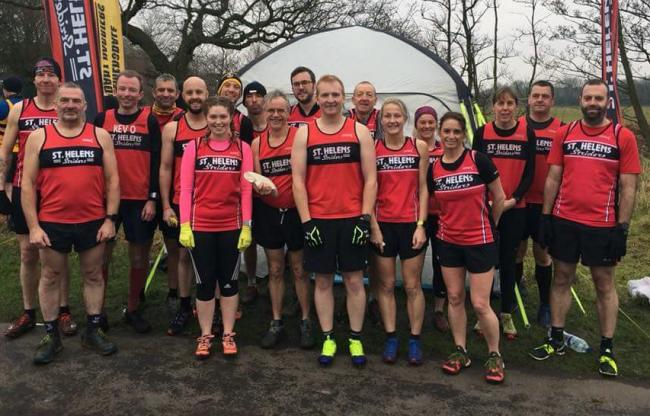 Jon-Jo Doherty is first home for St Helens Striders