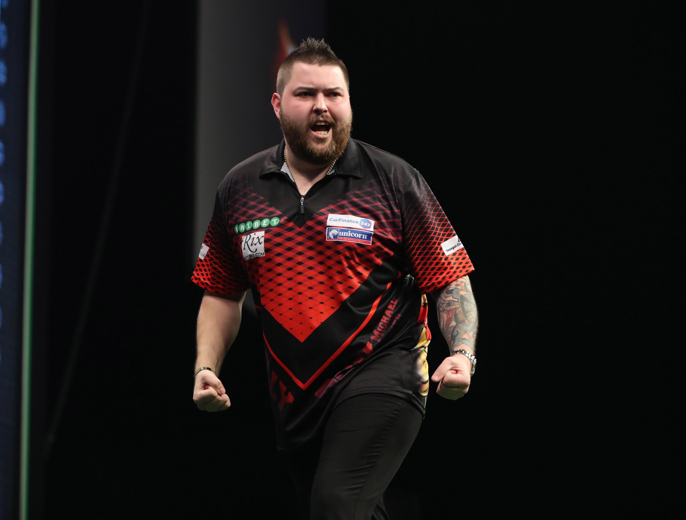 Michael Smith. Pic: Lawrence Lustig/PDC
