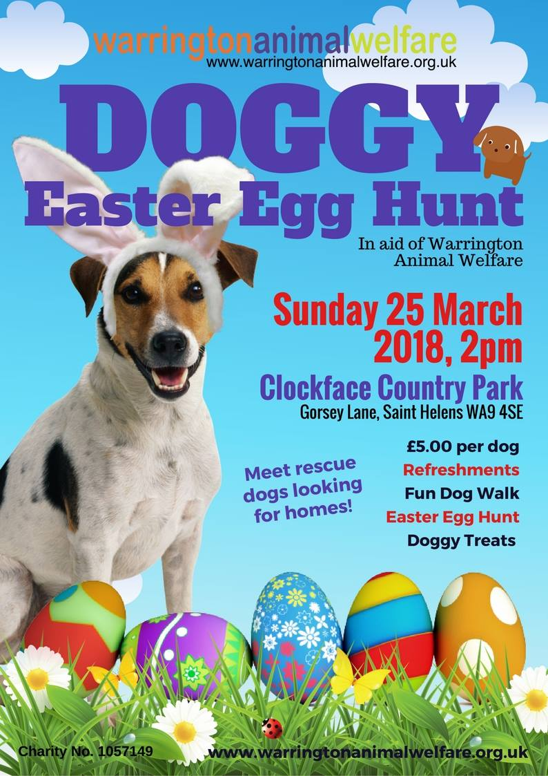 WAW Doggy Easter Egg Hunt