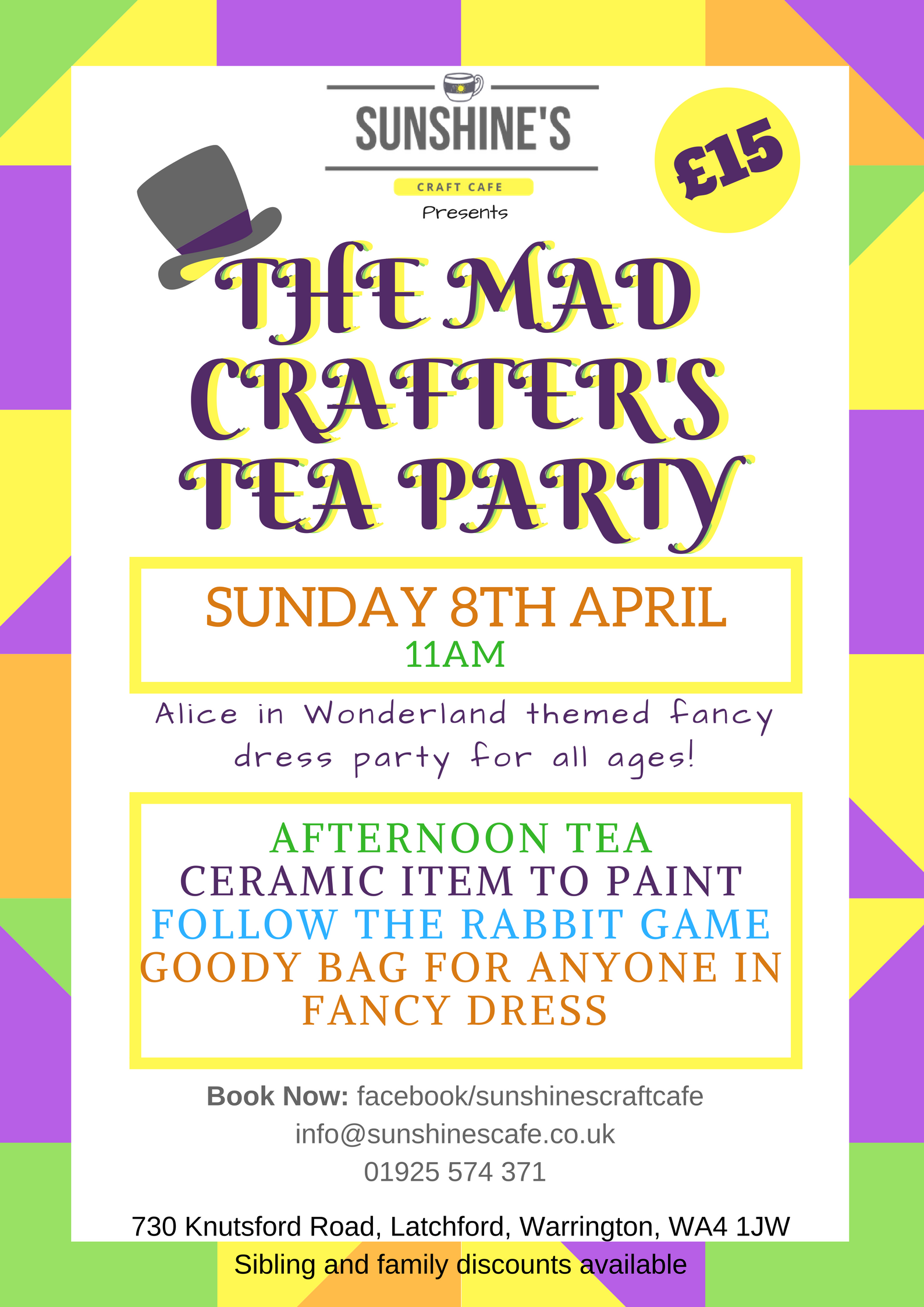 The Mad Crafter's Tea Party