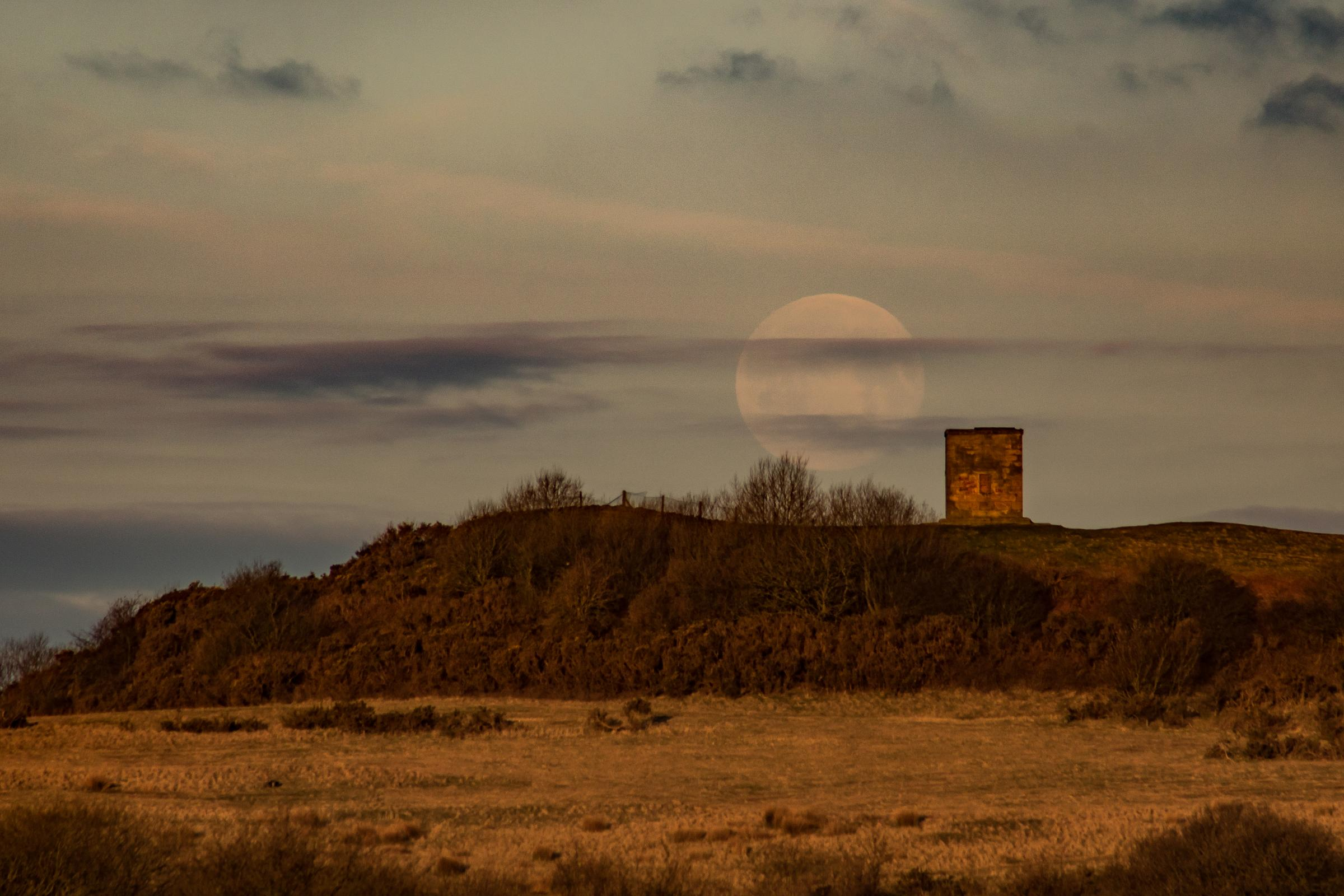 Photographer Ian Bonnell sent in this beautiful picture of the beacon. The photographer's image was widely praised across social media
