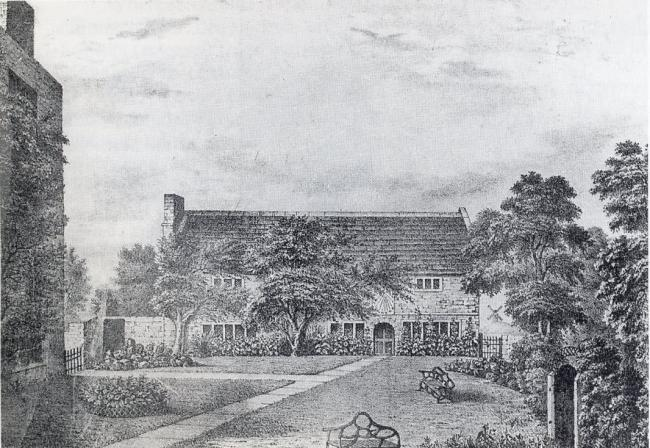 The Quaker's Friends Meeting House in St Helens