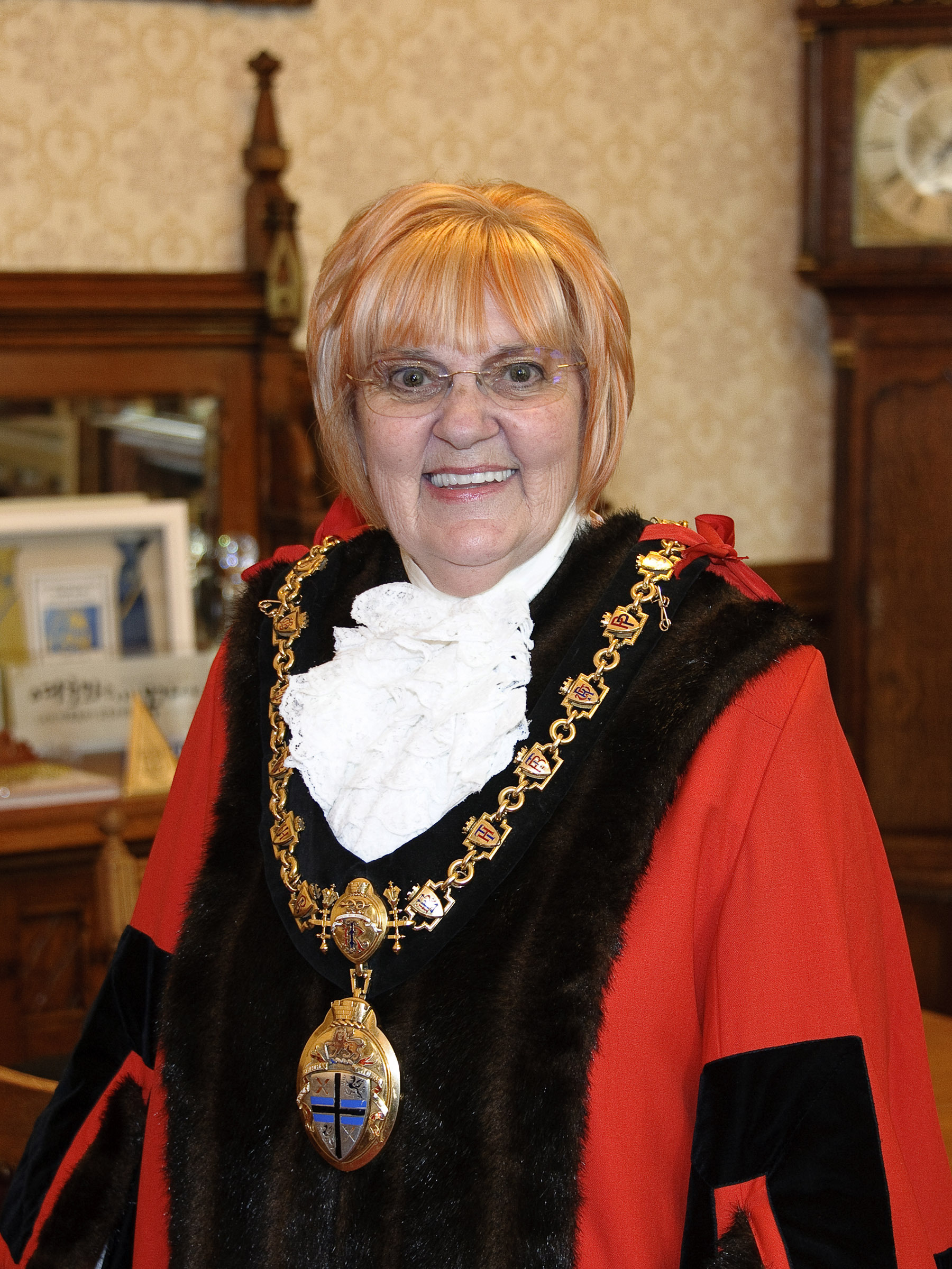 Cllr Ireland has spoken of her pride after being appointed Mayor of her hometown