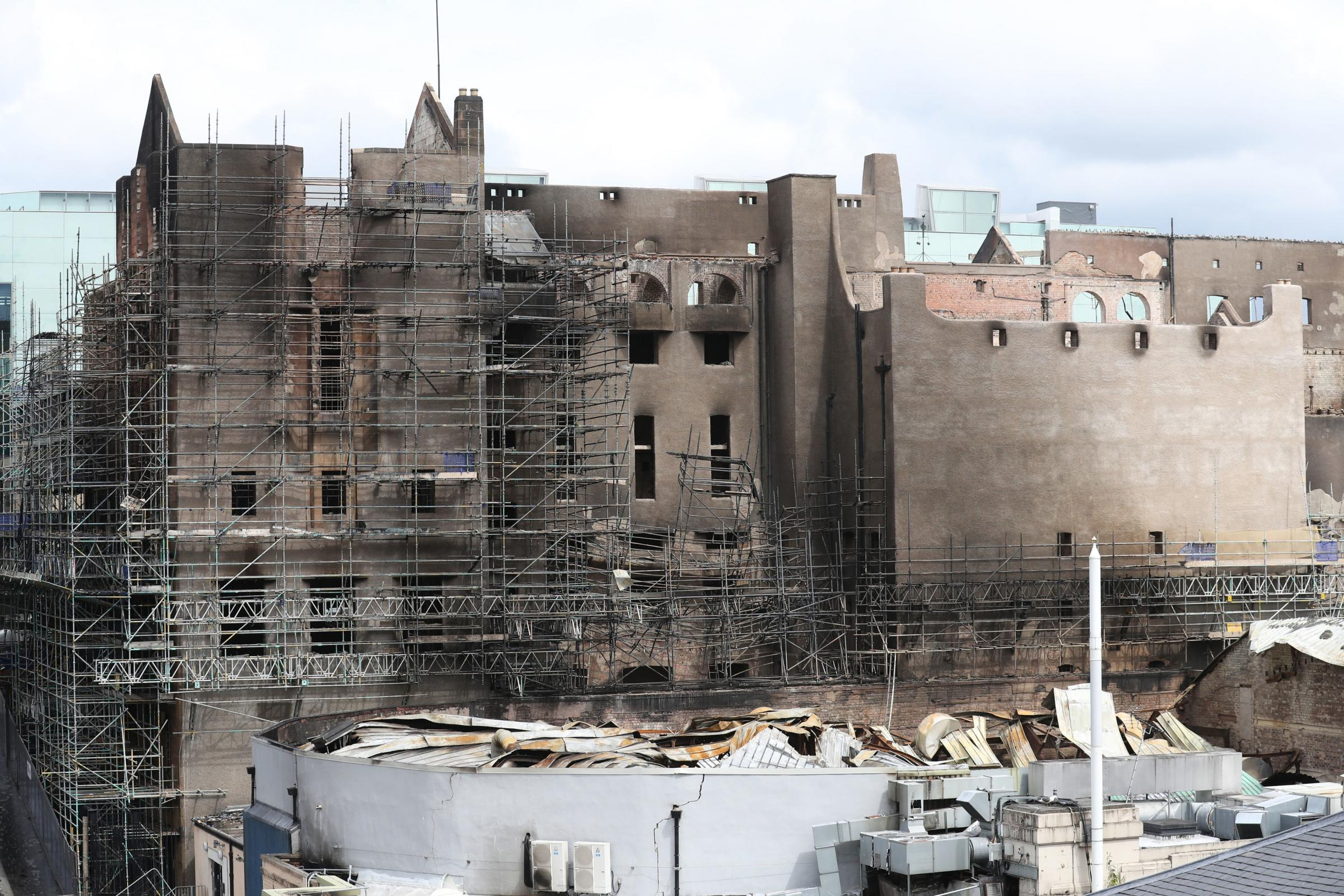 Work Begins To Assess Glasgow School Of Art As Experts