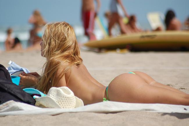 Family Sunbathing Nude