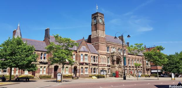 St Helens Star: St Helens Town Hall