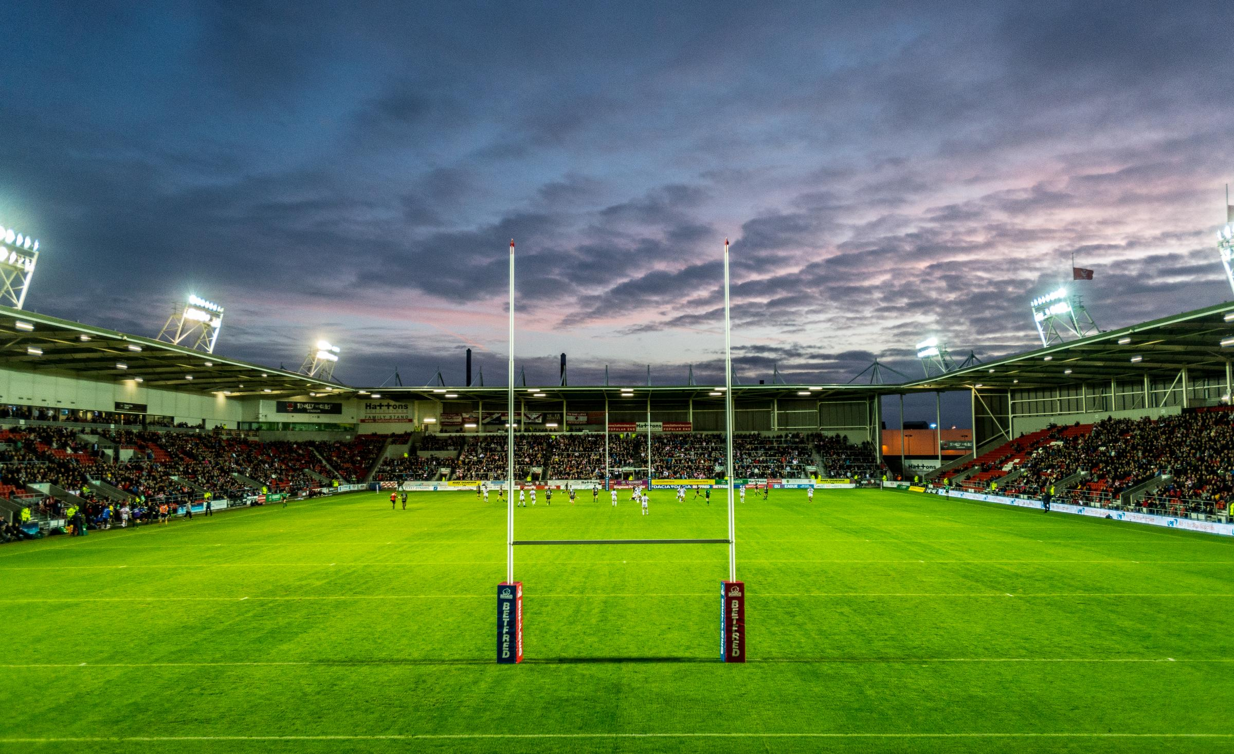 The Totally Wicked Stadium, home to St Helens RLFC. Picture by Bernard Platt