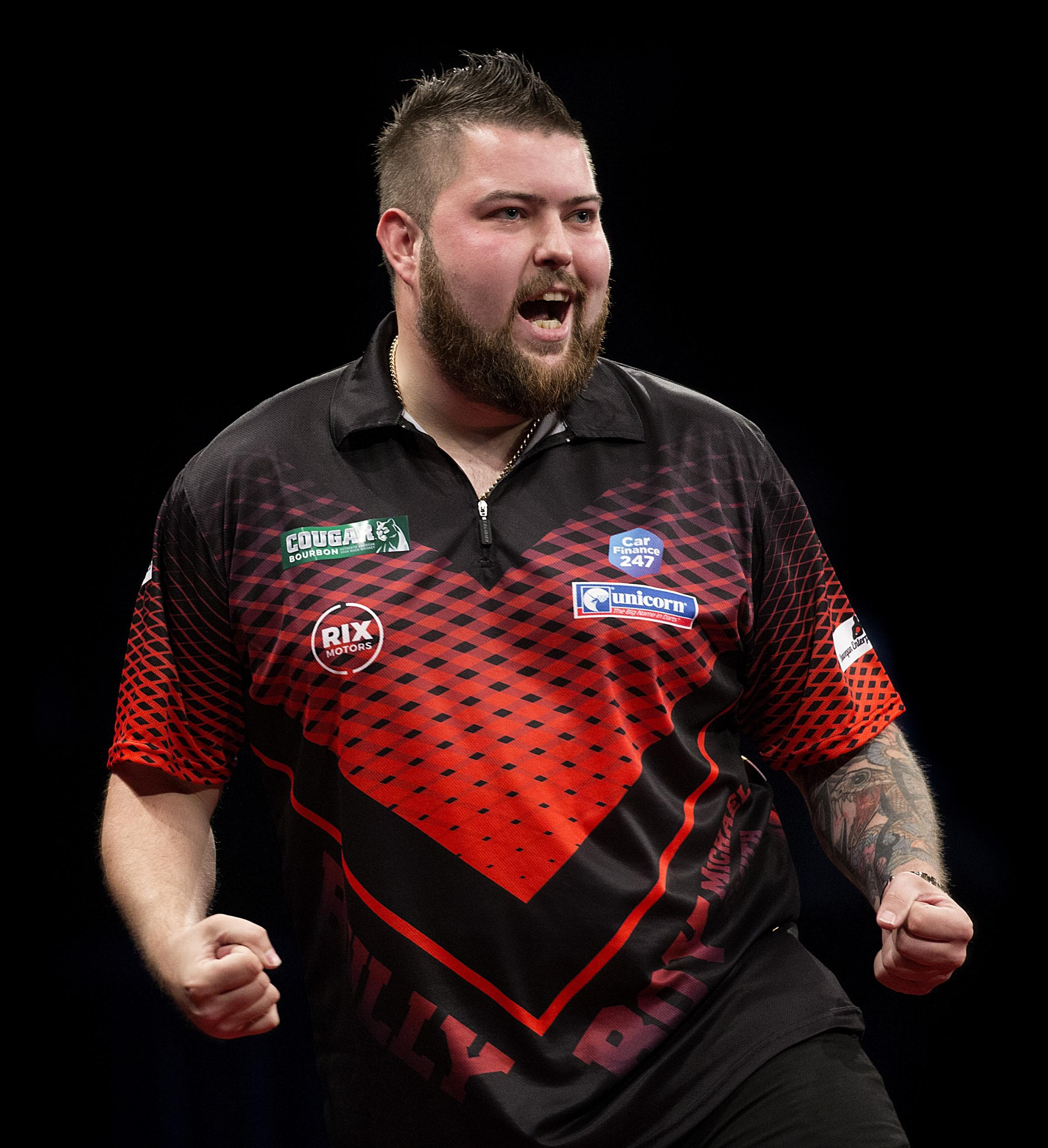 Michael Smith. Picture: PDC
