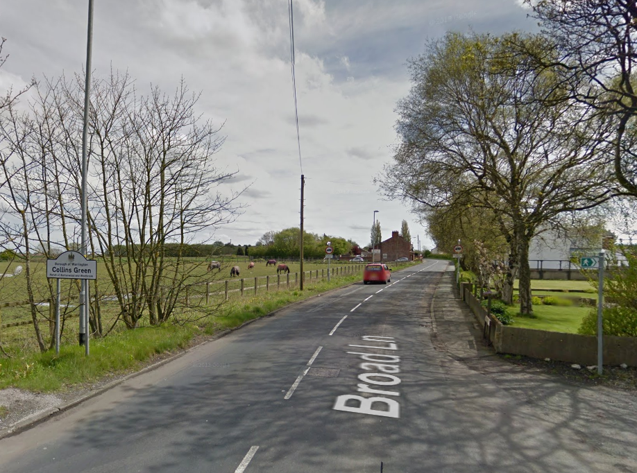 A woman fell from a moving car on Broad Lane on Wednesday night. Picture by Google Maps.