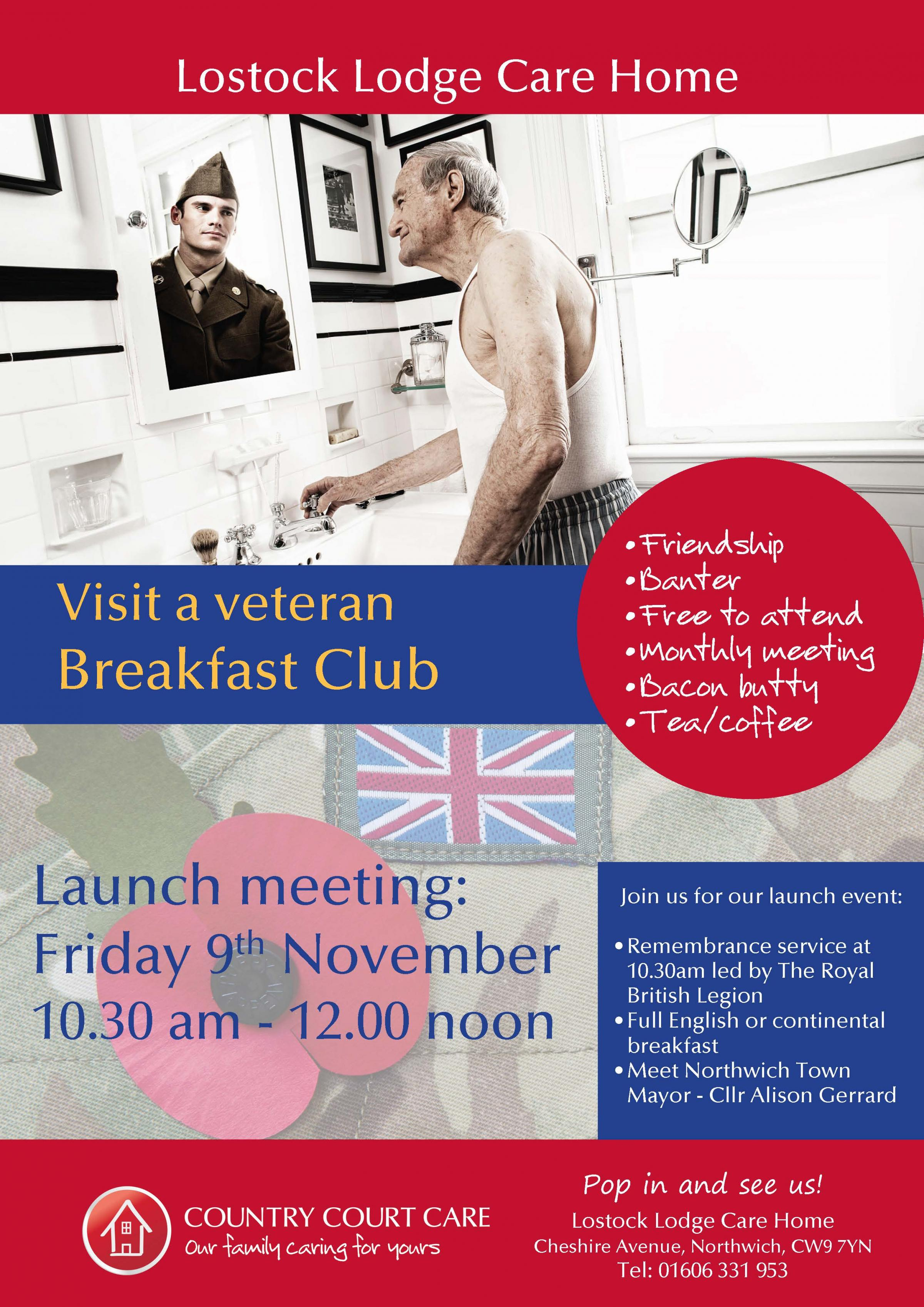 Veterans Breakfast club