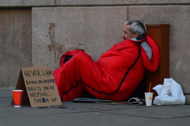 Please help us to help homeless
