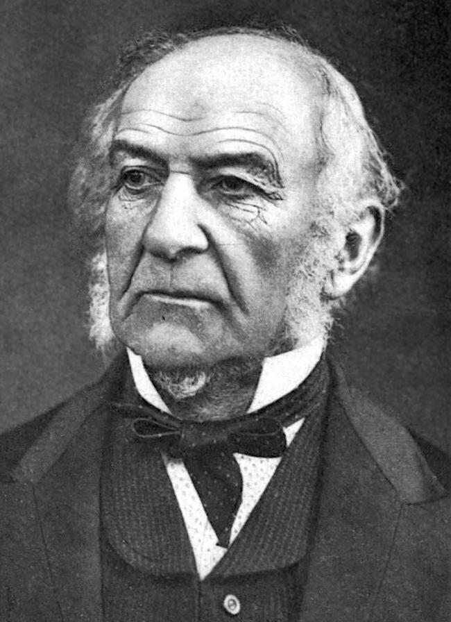 William Ewart Gladstone visited St Helens in 1868, weeks before he began the first of his four terms as prime minister