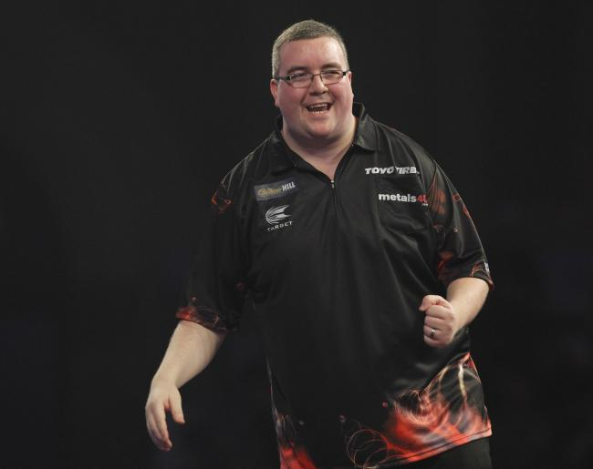 Stephen Bunting will be the first of the St Helens quartet in action