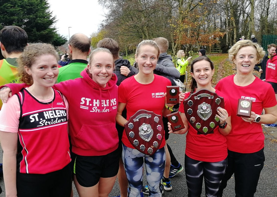 St Helens Striders ladies