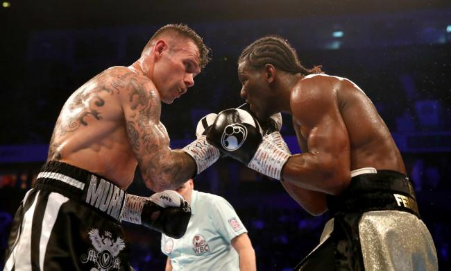 Martin Murray (left) and Hassam N'Dam. Pic: Martin Rickett/PA Wire