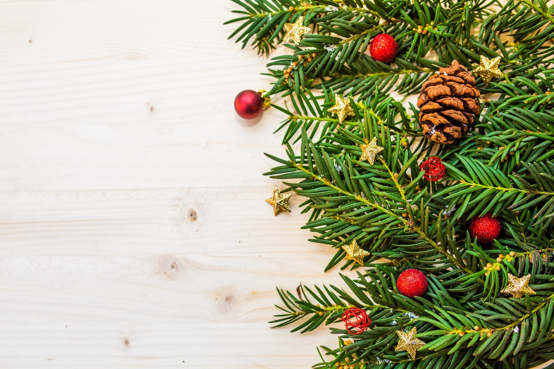 A stock image of a Christmas tree