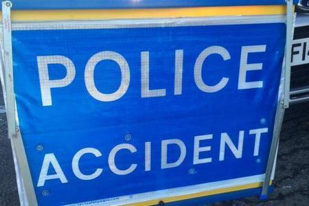 A crash took place on the M62 this afternoon