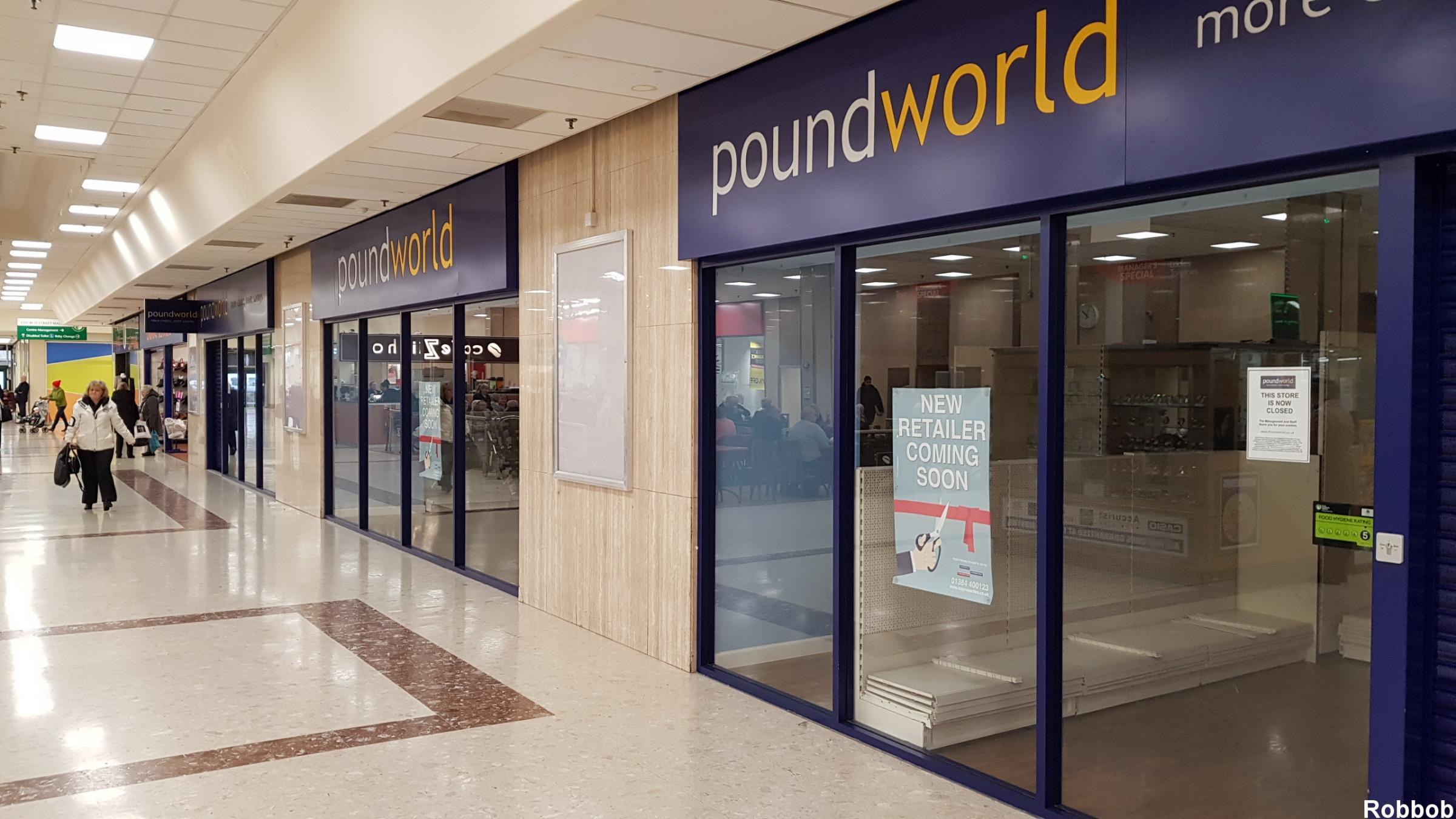The new store will open in the former Poundworld Pic: Robbob
